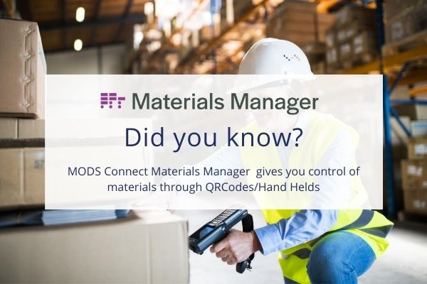 materials management software